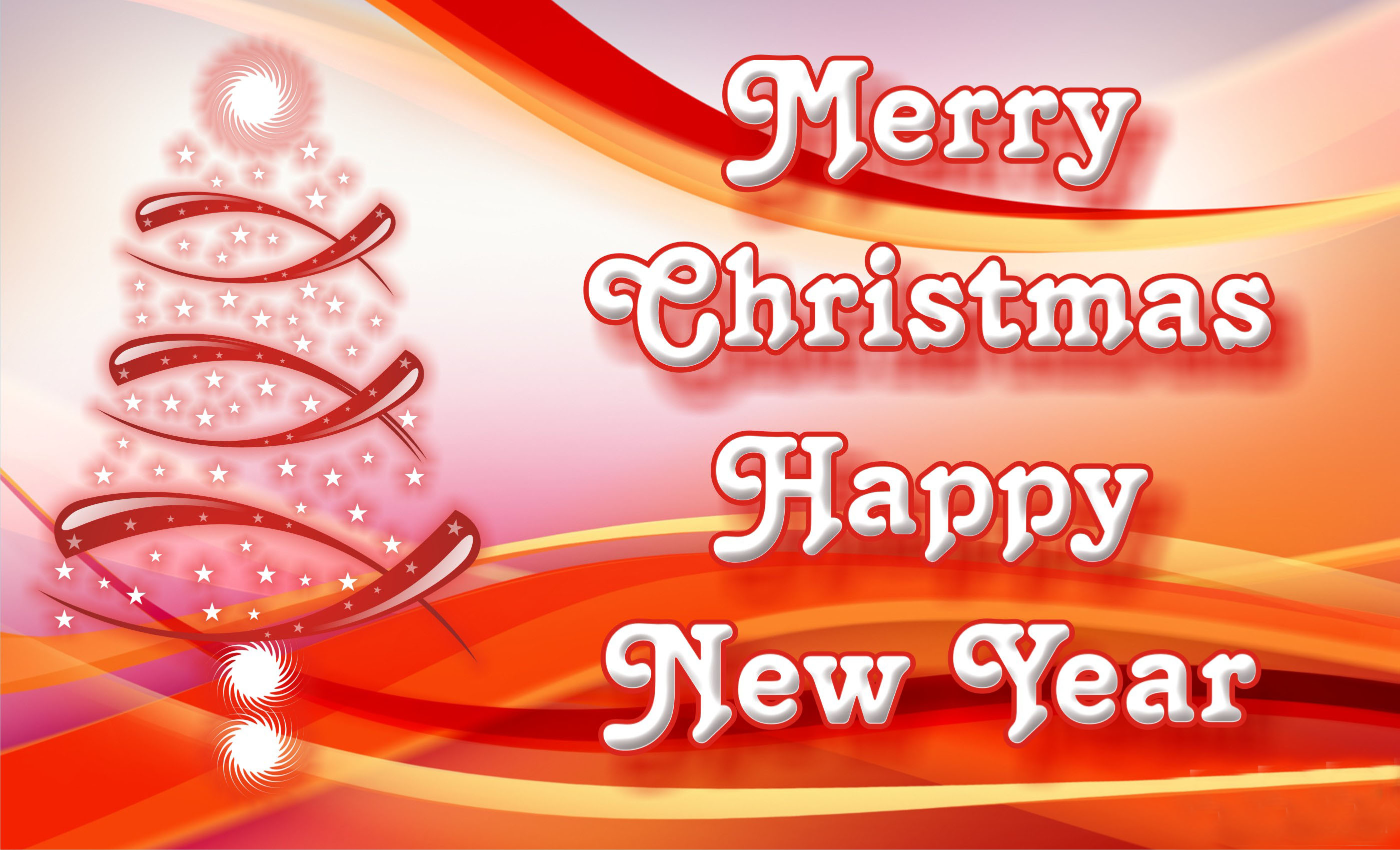 Merry Christmas And Happy New Year HD Images